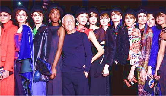 Italia news press agency for Giorgio armani figli