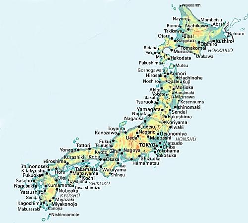 Cartina Economica Giappone.Italia News