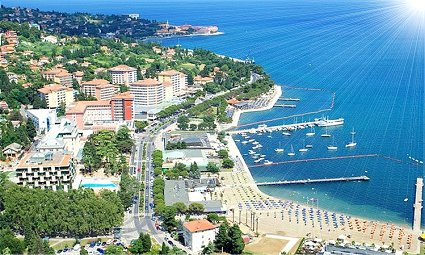 Portorose Slovenia Cartina Geografica.Italia News